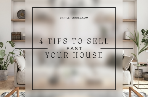 4 Tips To Sell Your House